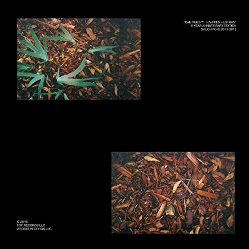 Shlohmo - Bad Vibes (Rarities And Extras) (Vinyl) - image 1 of 1