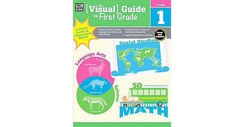 Visual Guide to First Grade (Paperback) - image 1 of 1