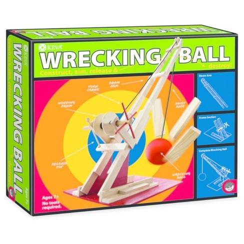 KEVA Wrecking Ball Wooden Plank Set - image 1 of 1