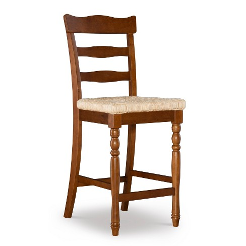 Kiley Rush Counter Height Barstool - Linon - image 1 of 4