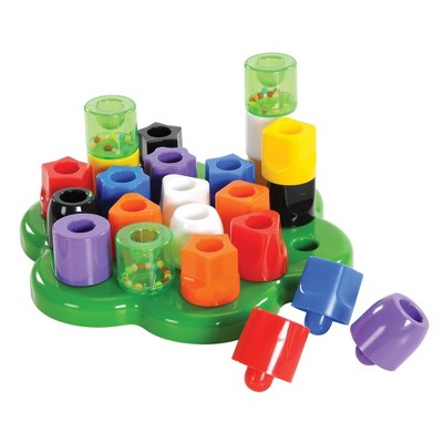 Joyn Toys My First Bright Colored Chunky Pegboard Set