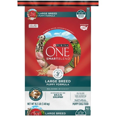 Dog Food: Purina ONE Large Breed Puppy
