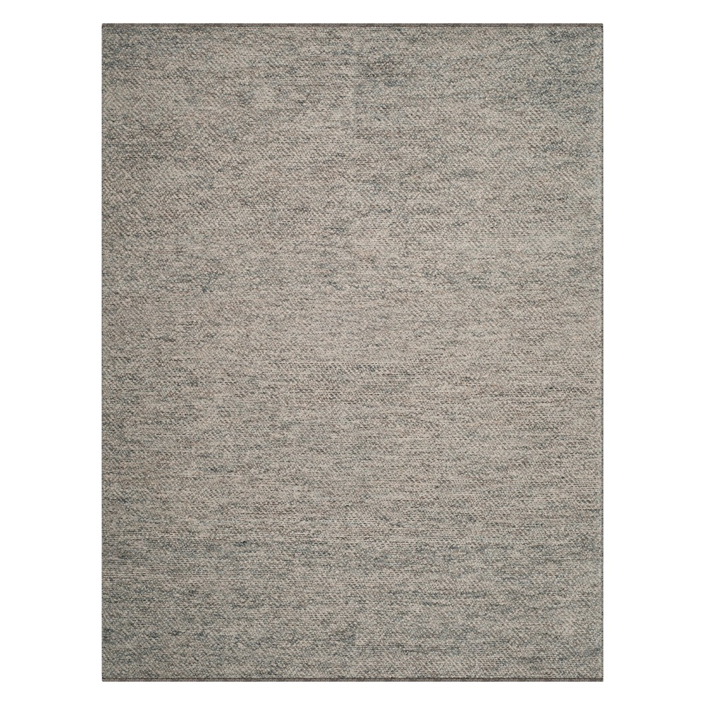 Geometric Woven Area Rug Camel/Gray