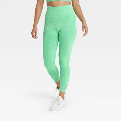 "Women's Seamless High-Waisted Leggings 24"" - All in Motion™"