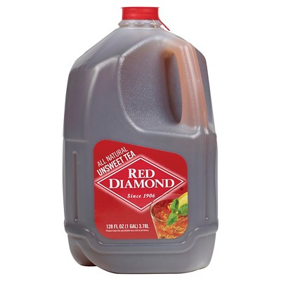 Red Diamond All Natural Unsweet Tea - 1gal