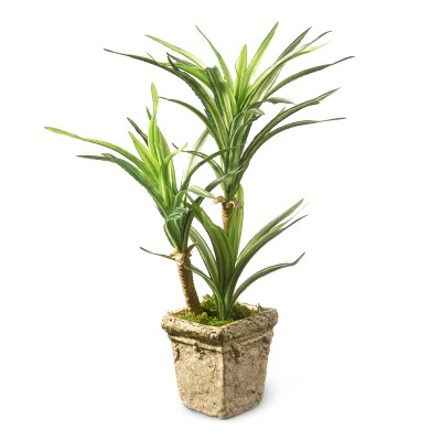 """Artificial Yucca Plant Green 14"""" - National Tree Company"""