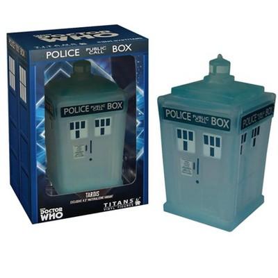 "Titan Books Doctor Who 4.5"" TARDIS Vinyl Figure, Materializing Variant"