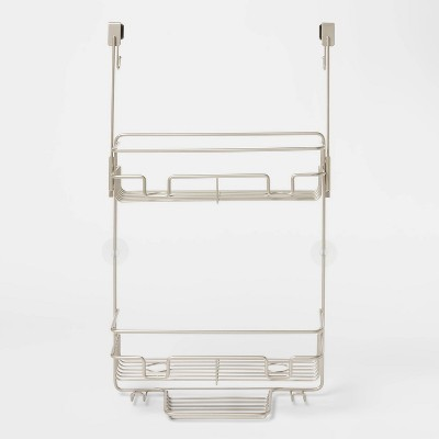 Over the Door Round Wire Shower Caddy - Made By Design™