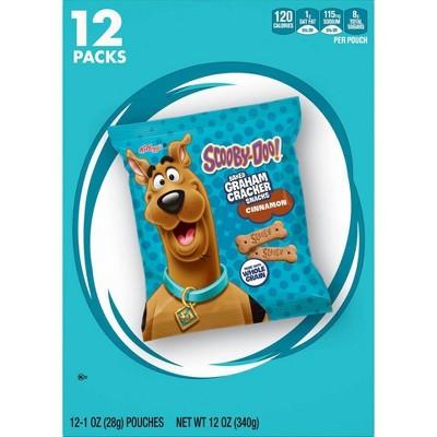 Keebler Scooby-Doo! Cinnamon Baked Graham Cracker Sticks - 12ct