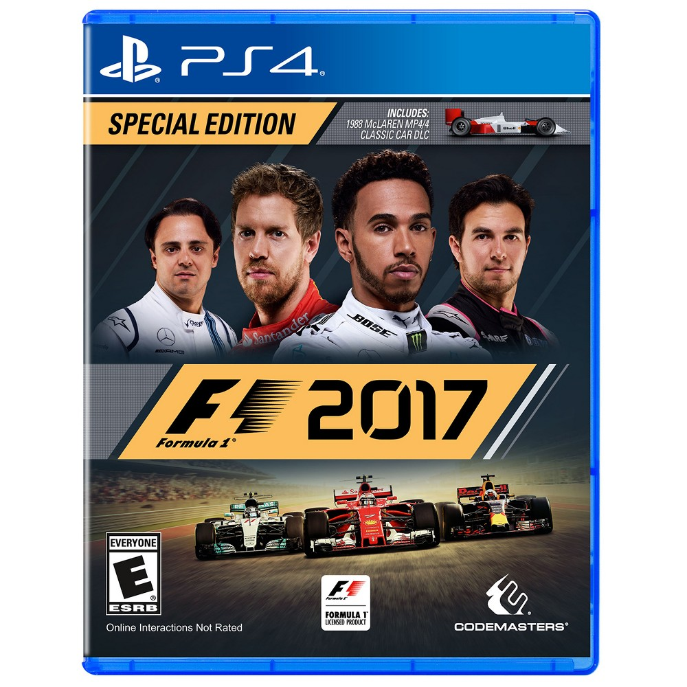 F1 2017 PlayStation 4, Video Games