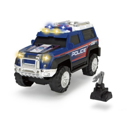 Dickie Toys Police SUV, toy vehicles image number null