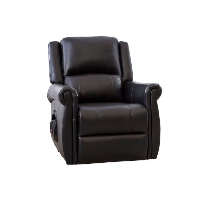 Awe Inspiring Polo Power Massage Recliner Black Abbyson Living Brickseek Uwap Interior Chair Design Uwaporg