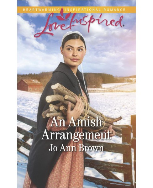 Amish Arrangement -  (Love Inspired) by Jo Ann Brown (Paperback) - image 1 of 1