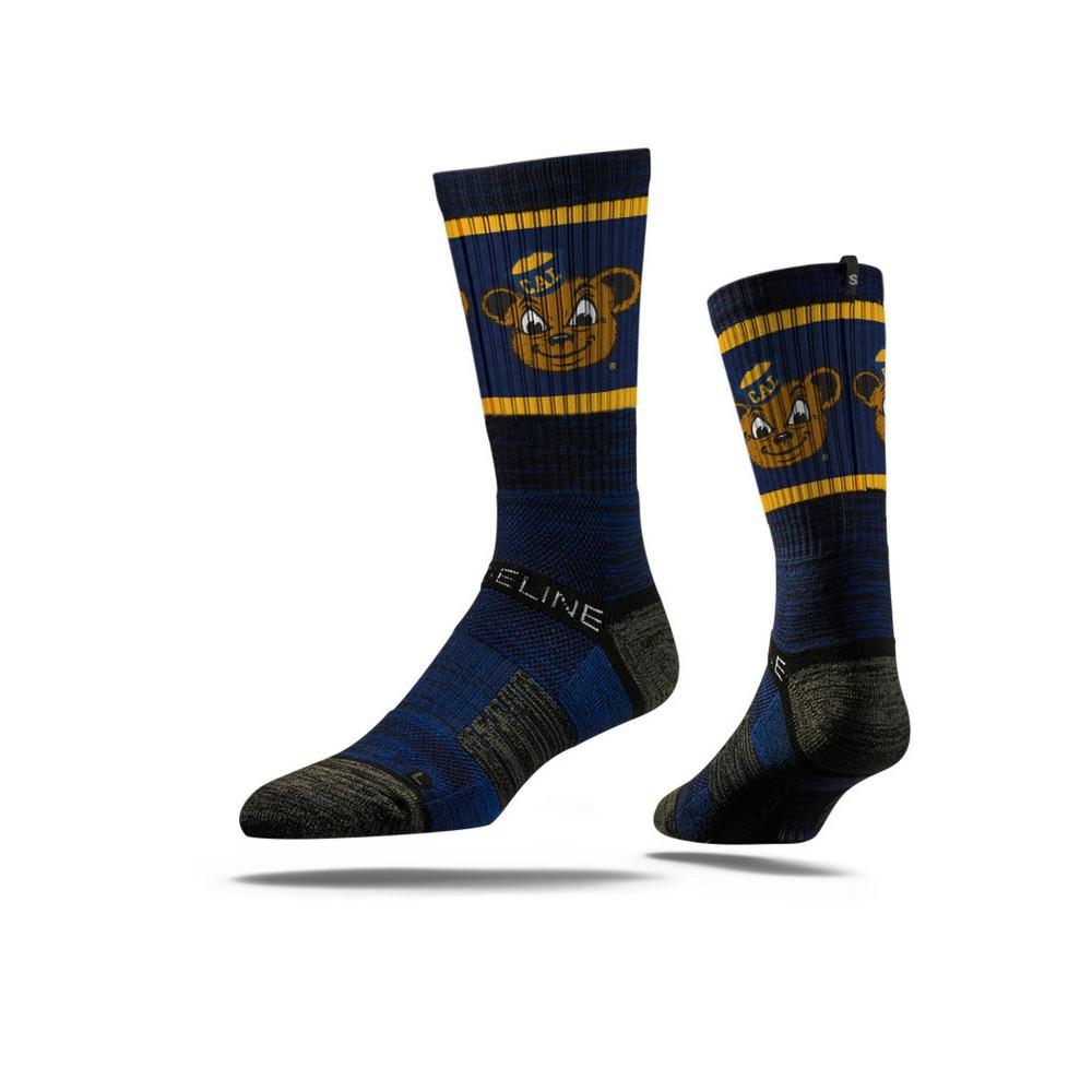 NCAA Mascot Premium Socks Cal Golden Bears M/L, Men's