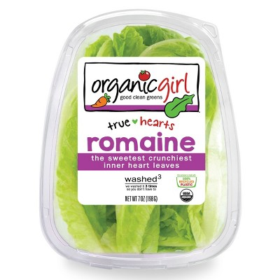 Organic Girl Romaine Heart Leaves - 7oz