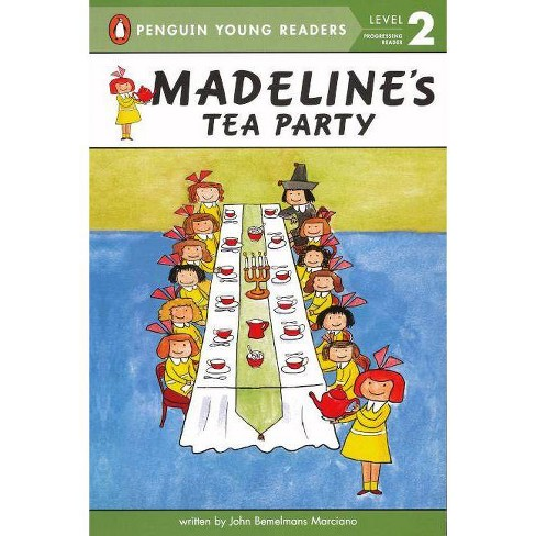 Madeline's Tea Party - (Madeline (Paperback)) by  John Bemelmans Marciano (Hardcover) - image 1 of 1
