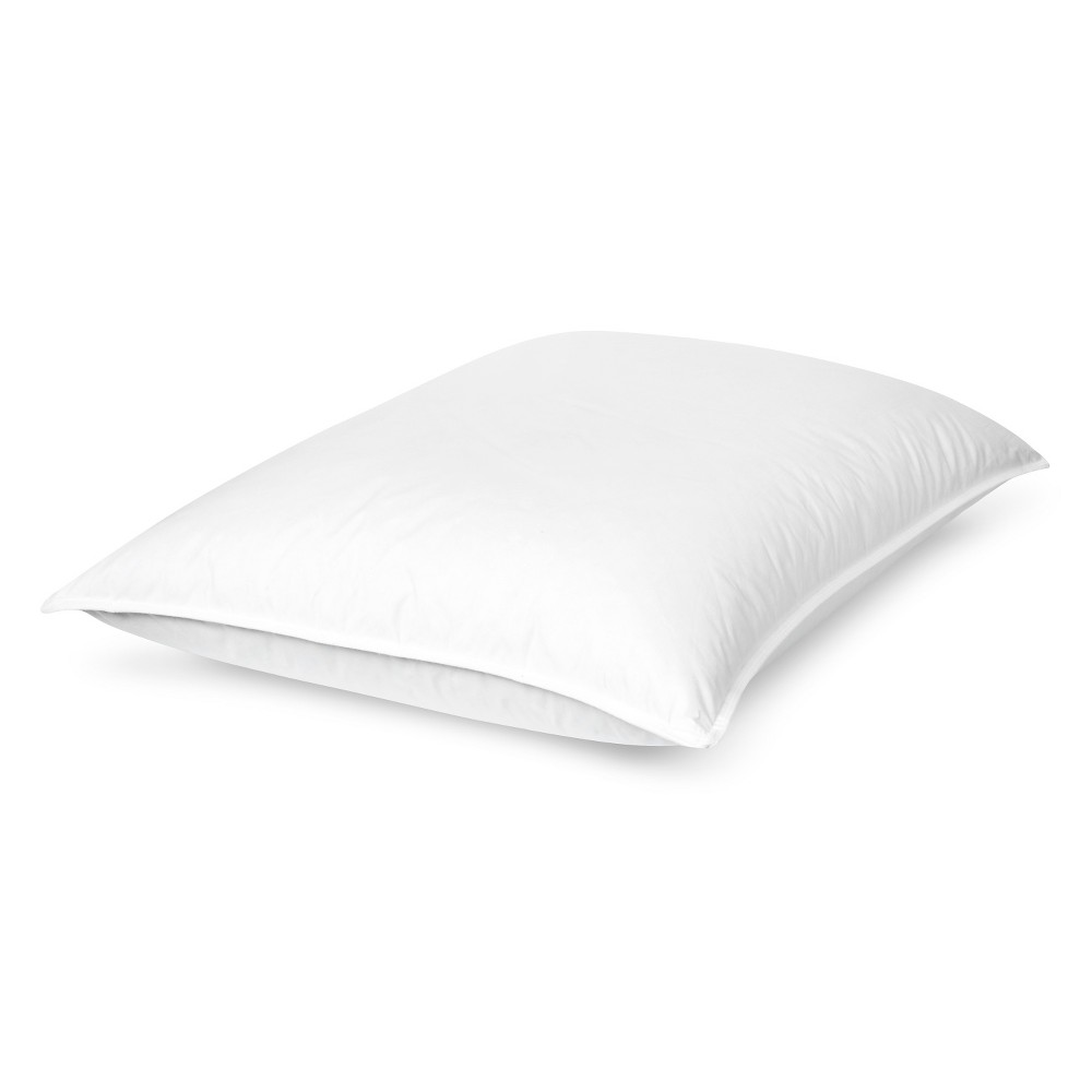 Image of Restful Nights All Natural Down Pillow - White (Standard), Size: Standard/Queen