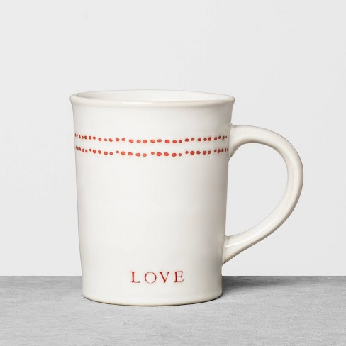 Valentine's Day Heart Mug - Hearth & Hand™ with Magnolia - image 1 of 3