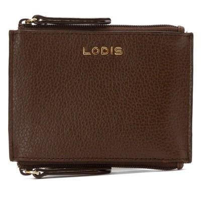 Lodis Women's Kate Frances Double Zip Pouch Keycase Coin Purse