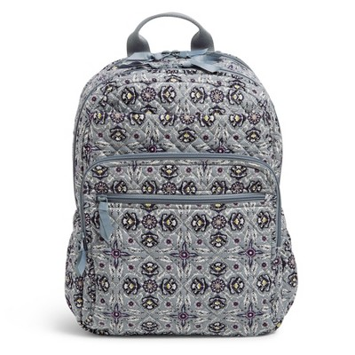 Vera Bradley Women's Recycled Cotton XL Campus Backpack