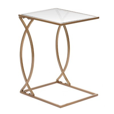 Cressida C Accent Table Gold - Carolina Chair & Table