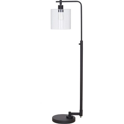 Hudson Industrial Floor Lamp Black Lamp Only - Threshold™