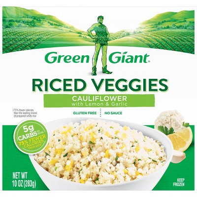Green Giant Riced Veggies - Frozen Cauliflower Lemon & Garlic - 10oz