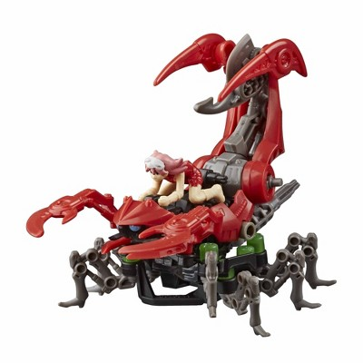 Zoids Mega Battlers Needle - Scorpion -Type Buildable Beast Figure, Wind-Up Motion - Kids Toys Ages 8 and Up, 33 Pieces
