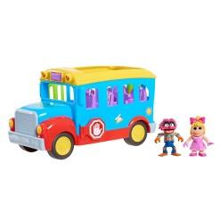 Disney Muppet Babies Friendship School Bus Vehicle Playset