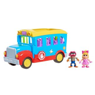 Disney Muppet Babies Friendship School Bus Vehicle Playset