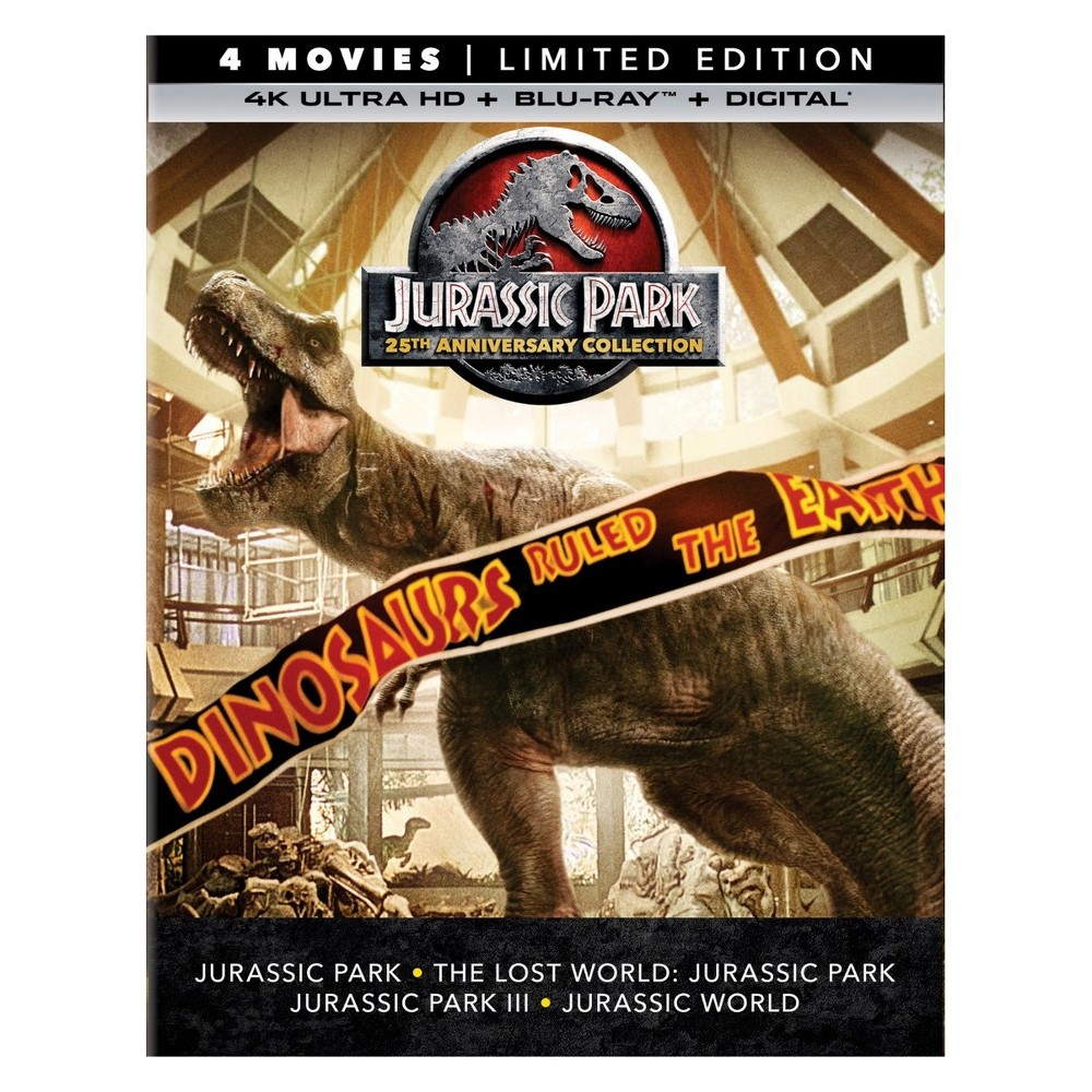 Jurassic Park 25th Anniversary Collection (4K/Uhd)