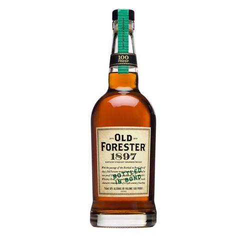 Old Forester 1897 Bottled in Bond Kentucky Straight Bourbon Whisky - 750ml Bottle - image 1 of 3