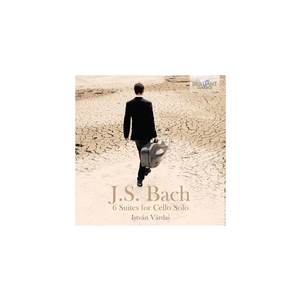 Istvan Vardai - Bach:6 Suites For Solo Cello (CD)