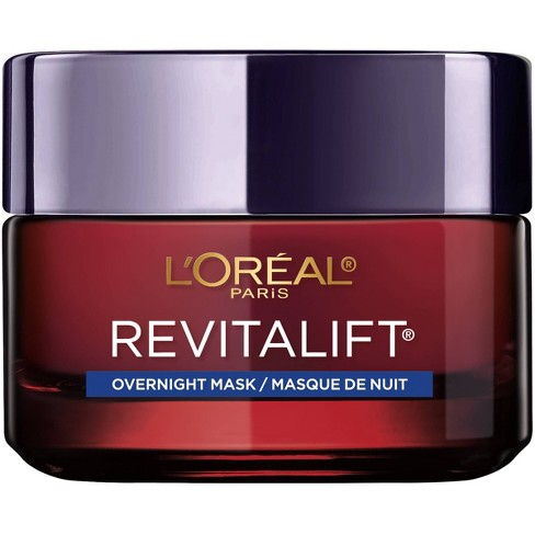 L'Oreal Paris Revitalift Triple Power Anti-Aging Overnight Mask - 1.7oz - image 1 of 4