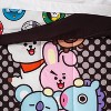 Twin Line Friends BT21 Pyramid Reversible Comforter - image 3 of 4