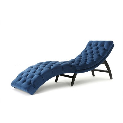 Garret Tufted Chaise Lounge - Christopher Knight Home