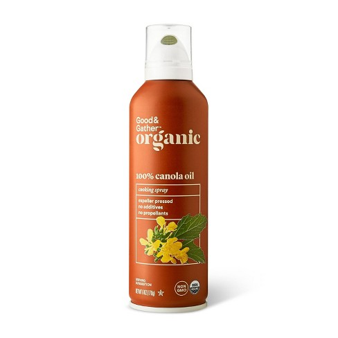 Organic 100% Canola Oil Cooking Spray - 6oz - Good & Gather™ - image 1 of 2