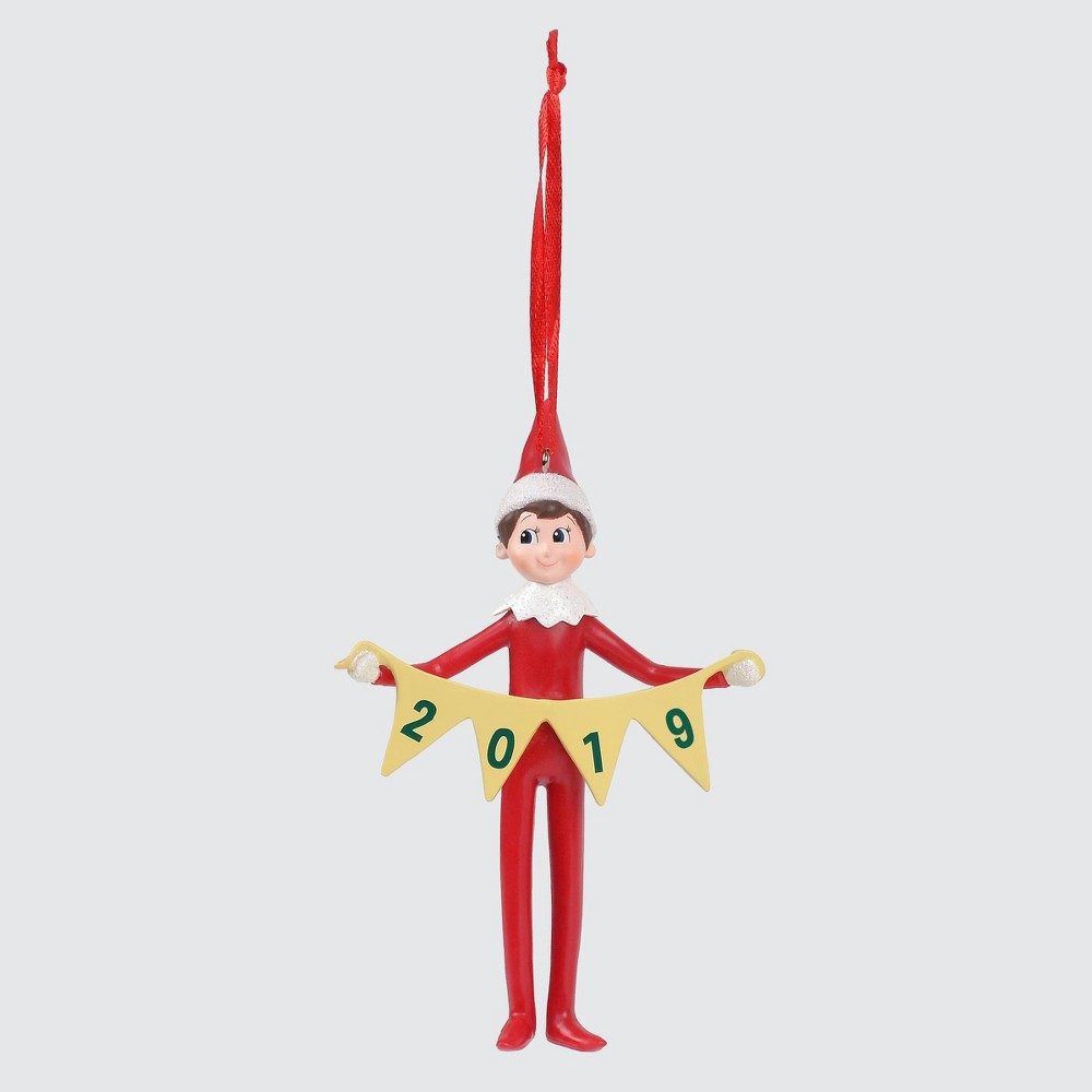 Image of Elf on the Shelf 2019 Christmas Ornament, Red