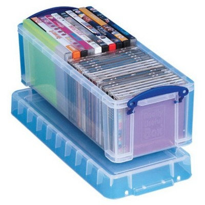 Really Useful Products Really Useful 6.5 L Storage Box, Clear (6.5C)