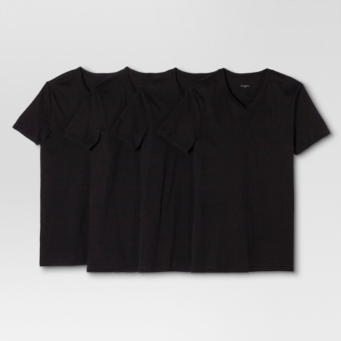 Men s V-Neck T-Shirts 4pk - Goodfellow   Co™   Target e07fa407a