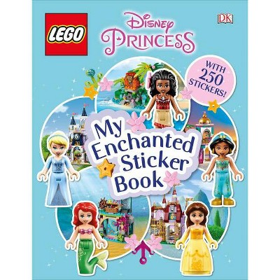 Lego Disney Princess My Enchanted Sticker Book - (Ultimate Sticker Book) (Paperback)