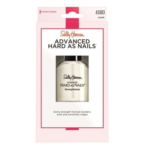 Sally Hansen Nail Treatment 45083 Advanced Hard As Nails Nude - 0.45 ...