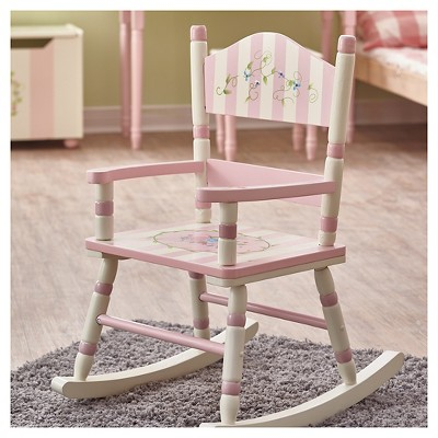 Fantasy Fields Bouquet Classic Rocking Chair   Teamson : Target