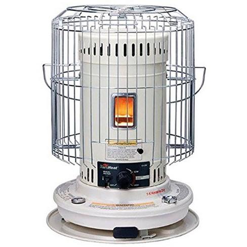 Sengoku HeatMate Efficient 23,500 BTU Indoor/Outdoor Portable Convection Kerosene Space Heater, White - image 1 of 1