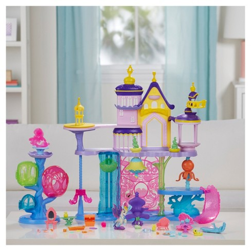 My Little Pony: The Movie Canterlot & Seaquestria Castle with Light-Up Tower. Shop all My Little Pony