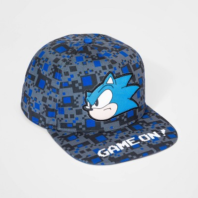 Kids' Sonic the Hedgehog Hat - Black/Blue/Gray
