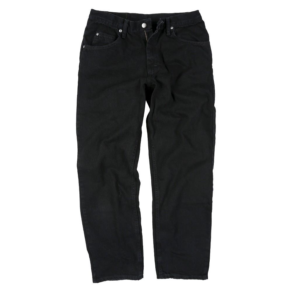 Wrangler Men's Big & Tall Jeans Black 54X32
