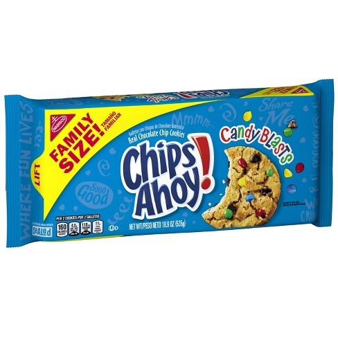 Chips Ahoy! Candy Blast Family Size Cookies - 18 9oz