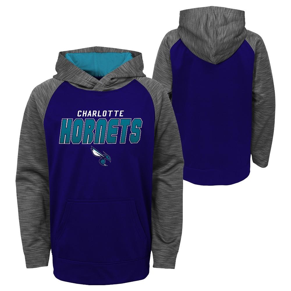 Charlotte Hornets Boys' Jump Shot Performance Hoodie S, Multicolored