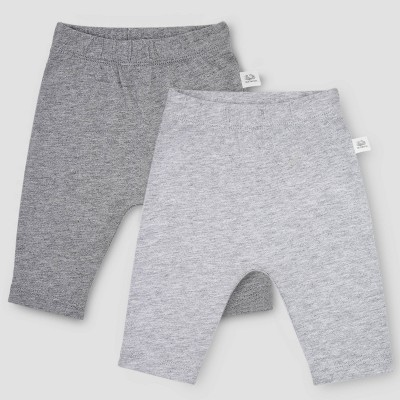 Fruit of the Loom Baby 2pk Breathable Pants - Gray 9-12M